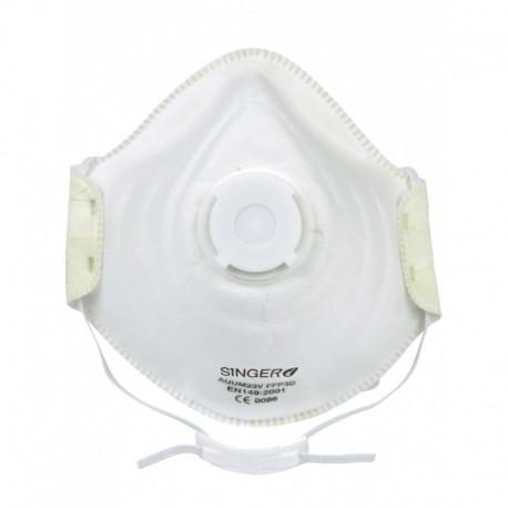 demi-masque confort avec valve respiratoire