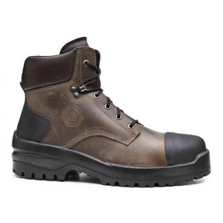 Chaussures de sécurité montantes avec semelle caoutchouc