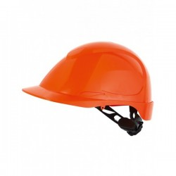 Casque de chantier ABS 8 points de fixation version non aéré gamme EPI protection tête
