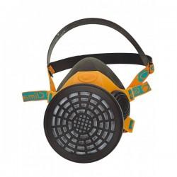Demi masque respiratoire 761 caoutchouc 1 filtre 760