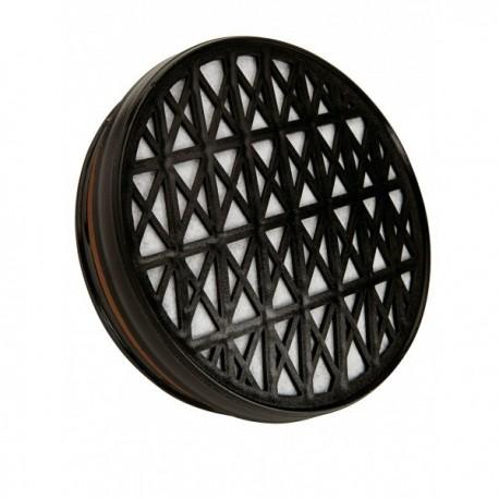 Filtre à particule et gaz A1P3 galette pour masque respiratoire - P3 - Accessoires EPI protection voies respiratoires pas cher