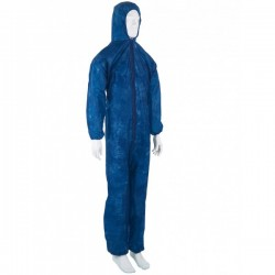 Combinaison protection risques mineurs - Bleu